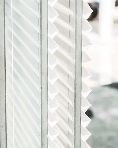 Plisségardin - Morris Interiör erbjuder plisségardin som produkt för solskydd